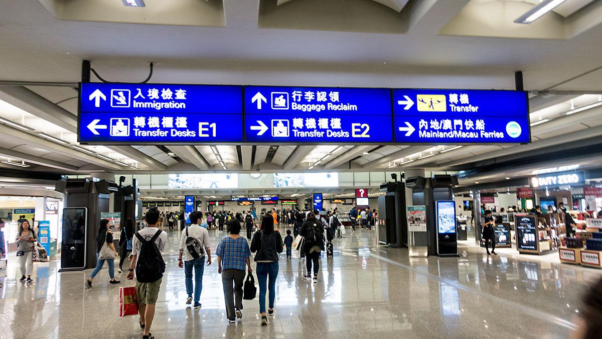 祝!香港入国!