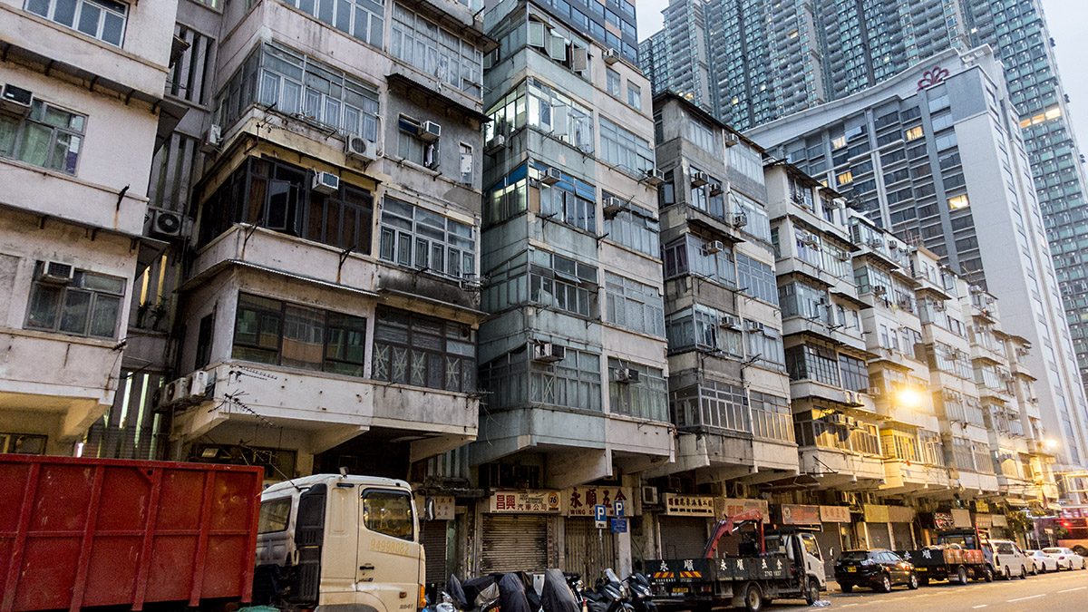 香港の住宅事情