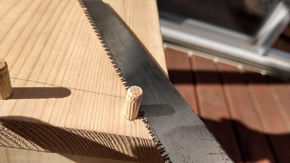 余っている材でカフェテーブルを作ろう!