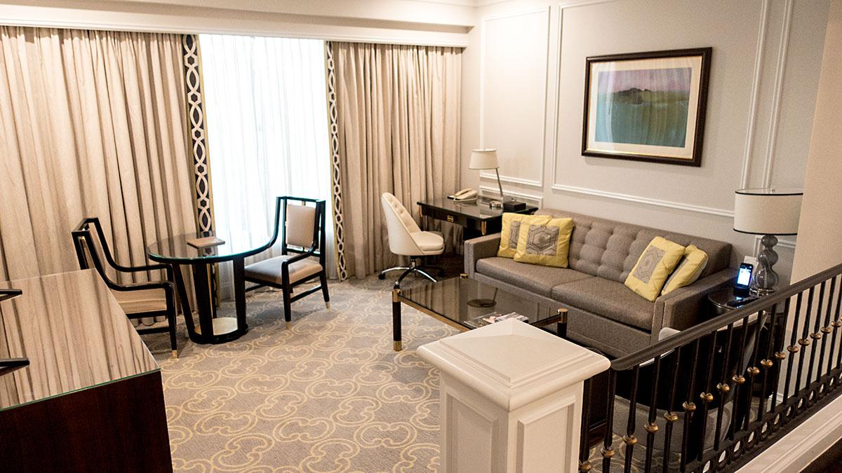 ベネチアンマカオリゾートの客室