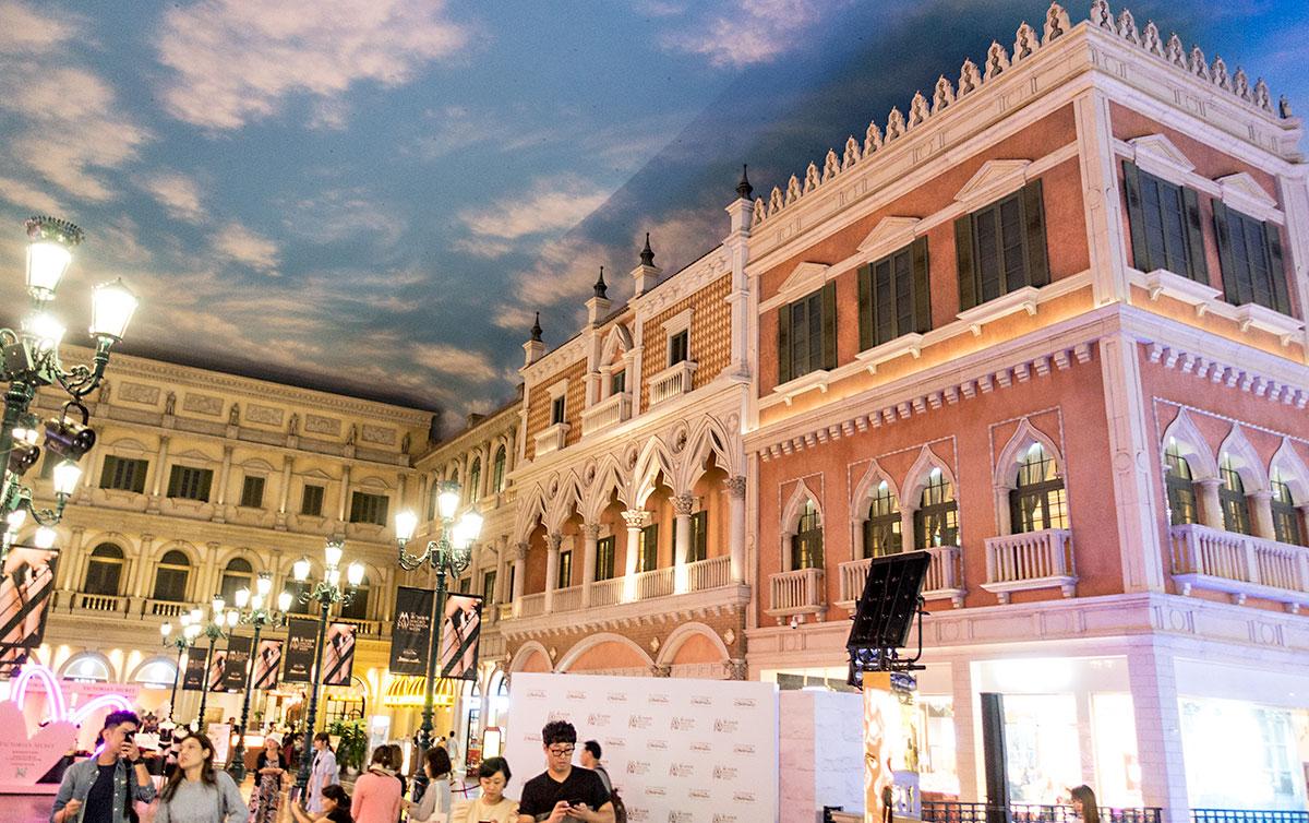 ベネチアンマカオリゾートのショッピングモール