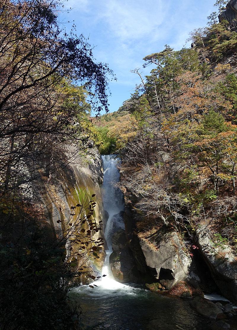昇仙峡「日本の滝百選」