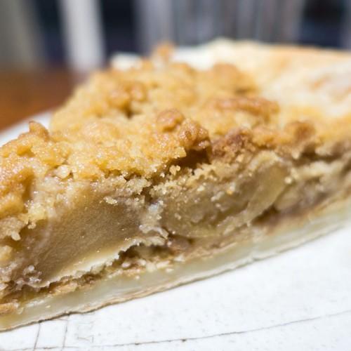 クリスマスにピッタリ!簡単クランブルアップルパイを作る!