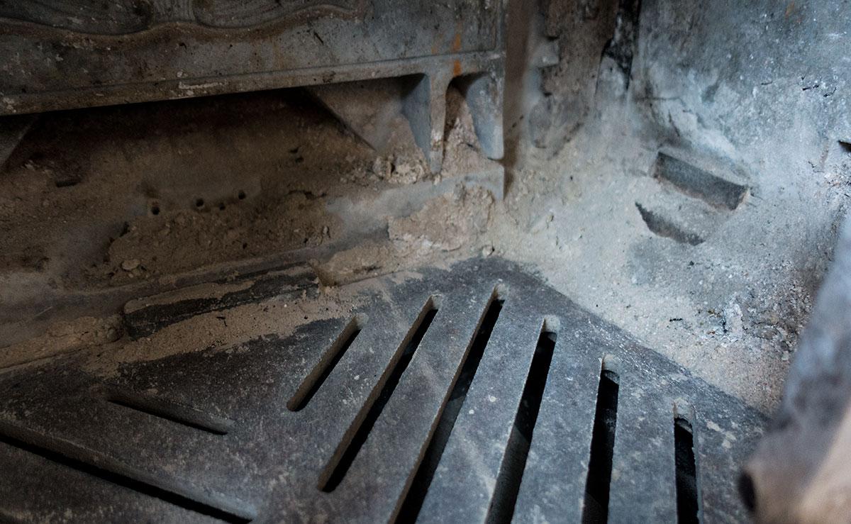 アンコール・エヴァバーンの炉内