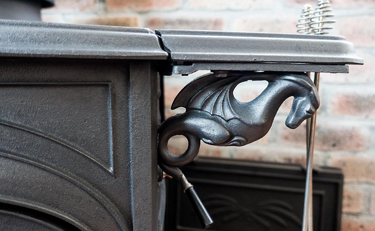薪ストーブ、アンコールの象徴