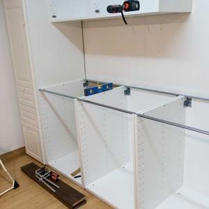 IKEAキッチンMETOD「メトード」DIYに挑戦-3