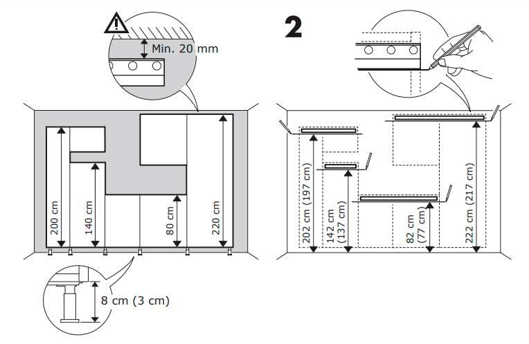 IKEA キッチンDIY