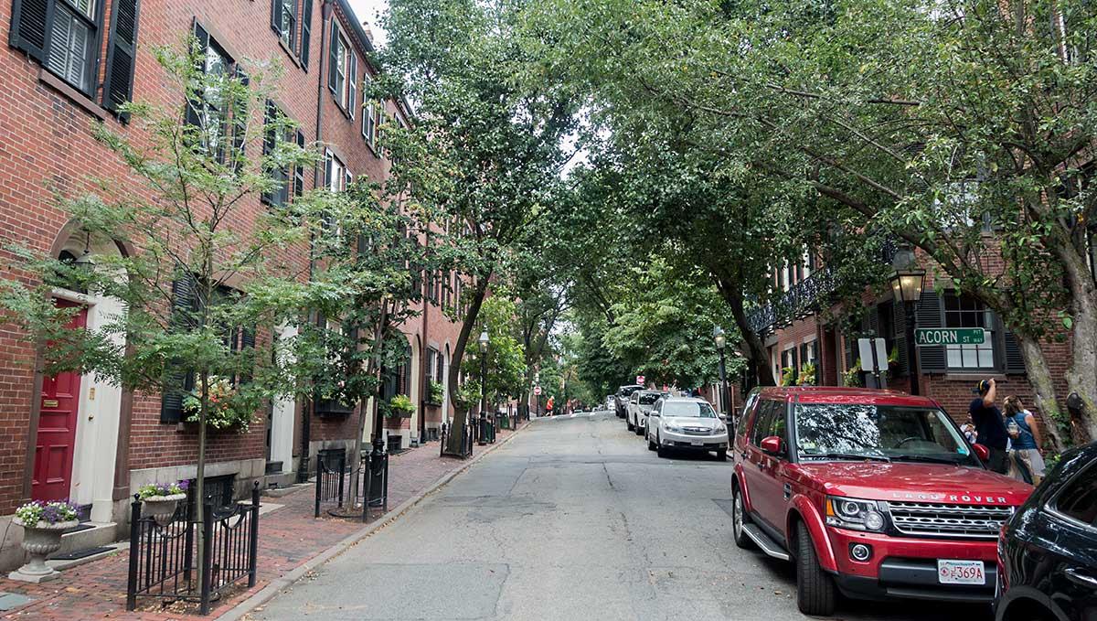 アメリカ、ボストン